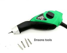 More details for electric pen for fossil preparation,engraving,carving stone with tungsten tips