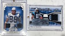 Steve Smith Auto Patch lot 8 cards /20 /25 and /100