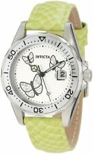 Invicta 12516 Women's Pro-Diver Silver Dial Crystal Accented Butterflies Watch