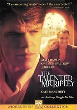 The Talented Mr. Ripley ~ Matt Damon Gwyneth Paltrow ~ Dvd Ws ~ Free Shipping