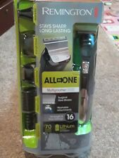 Remington ALL-in-ONE GROOMING KIT: TRIMMER DETAILER SHAVER BEARD & STUBBLE COMBS