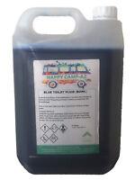 Blue Chemical Motorhome & Caravan Toilet Fluid Cleaner & Protector - 5L
