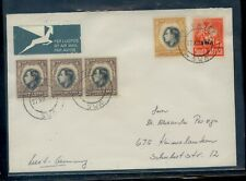 South  West  Africa  cover to  Germany