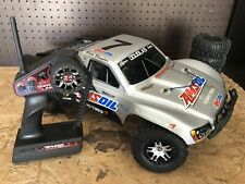 Traxxas Slash 4WD 1/10 Short Course RC Racing Truck With Spare Tires And Rims