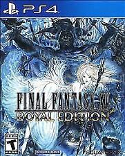 Final Fantasy Xv: Royal Edition (Ps 4, 2018) (0764) *Free Shipping Usa*