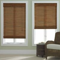 Bamboo Roman Shade - Five Colors - Free Shipping