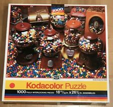 RoseArt Kodacolor Jigsaw Puzzle Goody, Goody Gumballs 1000 pc #44444 *FREE SHIP*