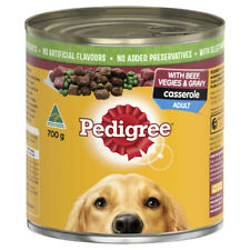 Pedigree Casserole With Beef & Gravy Adult Wet Dog Food Can 700g