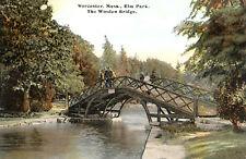 Worcester ELM PARK Old Bridge 11x17 Antique Repro Giclee Print