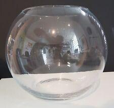 Large Ball Vase Bubble Vase XX large clear glass giant Globe Vase diameter 40 cm