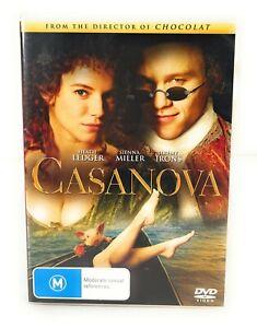 Casanova (DVD, 2005) Heath Ledger Region 4 Free Postage