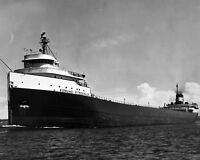 New 8x10 Photo: SS Edmund Fitzgerald, Ill-Fated Great Lakes Freighter Ship