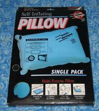 Basic Designs Self Inflatable Multi Purpose Outdoor Camp Pillow New in Box