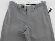 Men's RALPH LAUREN Gray Grey Dress Pants 40x30 40 30 NWT NEW Washable Modern Fit
