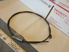Old car/truck/farm machine choke or throttle cable.  Used.      Item:  6549