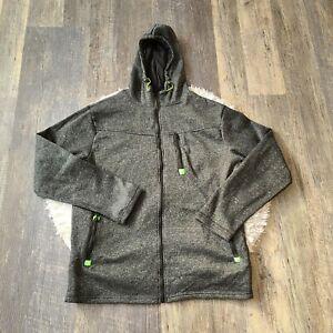 Unbranded Men's Hooded Full Zip Jacket Size 2XL