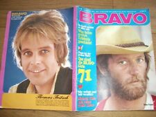 BRAVO 8/1971 PETER FONDA CLAY MI COLE RON ELY GUESS WHO KAREL GOTT PIERRE BRICE