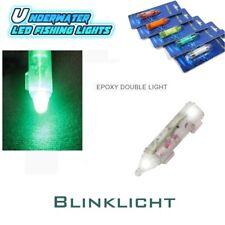 2 Stück Double LED Blinking  Flashlight White Super Blinklicht extra hell