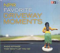 NPR Favourite Driveway Movements 2CD Audio Book Radio Stories Fun Inspiring