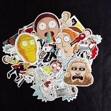 35pcs Rick And Morty Car Sticker Random Character Ric Cool Mor Auto Sticker DIY