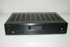Rotel A12 2x60W Integrated Amplifier - Black