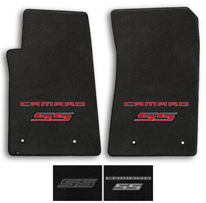 Lloyd Carpet 2pc Floor Mats for 2010-2015 Chevrolet Camaro SS -Pick Color & Logo