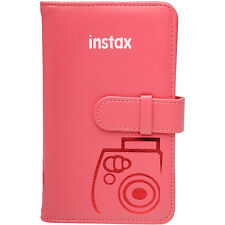 Fujifilm Instax Mini Wallet 108 Photo Album RASPBERRY for 7S 8 9 50S 90 Cameras