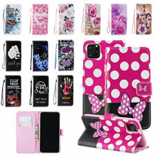 For iPhone 11 Pro Max Flip PU Leather Case Card Holder Wallet Stand Phone Cover
