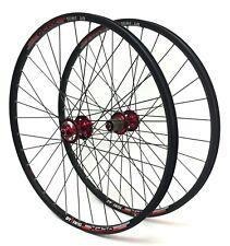 "100mm QR 27.5/"" DT Swiss 533d Disc Rim Shimano Deore XT M756 Hub Front Wheels"