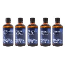 Gift Pack of 5 x 50ml Herb & Spice Essential Oils (SP50EOHERBSPIC)