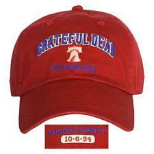 Grateful Dead Philadelphia 1994 Philly Music Rock Band Osfm Adjustable Hat Cap