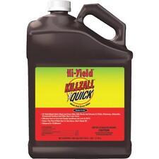 1 Gal Hi-Yield Killzall Quick Ready To Use Weed & Grass Killer Rainproof 10 min