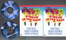 Singin' In The Rain 2 Disc Spec. Ed. (Dvd) Gene Kelly Debbie Reynolds Very Good