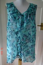 SIZE 14 - PER UNA SLEEVELESS  SUMMER TOP