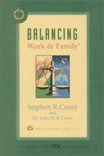 Audiobook on cassette: BALANCING WORK & FAMILY Stephen & John Covey (1998)