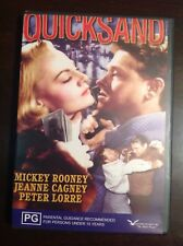 QUICKSAND Mickey Rooney NEW & SEALED B&W DVD R All