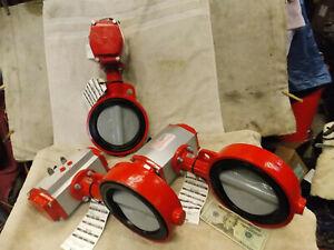 "Bray Controls 92-0920-11300-532 Double Acting Pneumatic Actuator 6"" Valve"