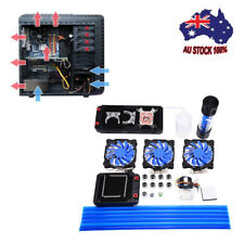PC 240mm Reservoir Pump Radiator Complete Kit for Water Liquid Cooling