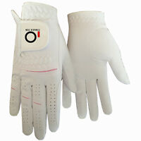 Women's Golf Gloves Pair Rain Grip Ladies Left Right Hand Small Large Lh Pr USA