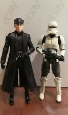 Star Wars The Black Series General Hux & Hovertank Pilot 6 Inch Loose Opened