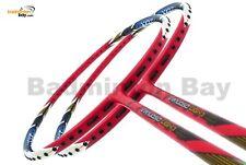 Apacs Virtuoso Light Red Blue 6U Badminton Racket Racquet Stringing + Grip
