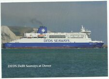DFDS Delft Seaways Ferry at Dover Postcard