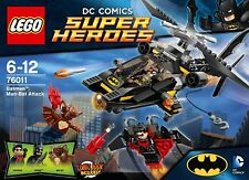 LEGO BATMAN DC SUPER HEROES MAN-BAT ATTACK 76011 MANBAT NIGHTWING BOXED XLNT