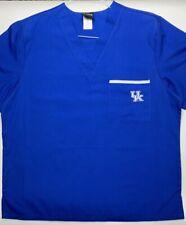 Ncaa College Team Scrubs-University of Kentucky Uk Wildcats Scrub Tops