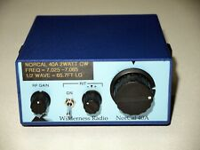 NorCal 40A Wilderness Radio 40 meter 2 watt CW QRP Transceiver Radio