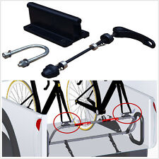 One Car Pickup Rear Bed Fixed Bicycle Quick Release Fork Mount Rack Carrier Kit