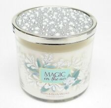1 Bath & Body Works MAGIC IN THE AIR 3-Wick Scented Wax Candle 14.5 oz