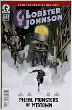 Lobster Johnson Metal Monsters of Midtown 1 Dark Horse Mike Mignola John Arcudi