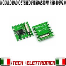 MODULO Radio FM Stereo RDA5807M Wireless Module RRD-102V2.0 Arduino