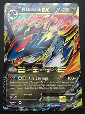 Carte Pokemon M DRATTAK XY171 Holo Mega EX Promo JUMBO Française NEUF